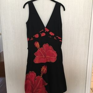Desigual Black/Red Poppy size Large
